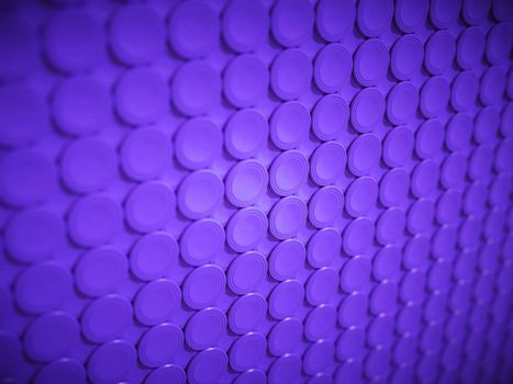 Purple bulging circles texture or background
