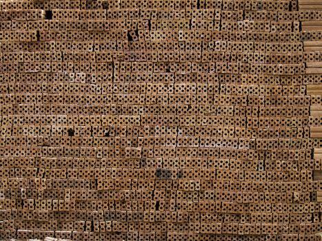 Clay bricks material