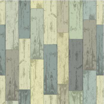 Wooden multi-color planks. Seamless pattern, vector illustration