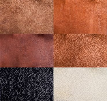 Leather textures collection