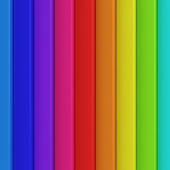 Striped background of rainbow colors