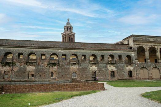 the Castle of San Giorgio in Mantua, Italy