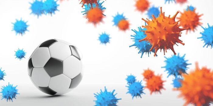 Soccer events through the corona virus time