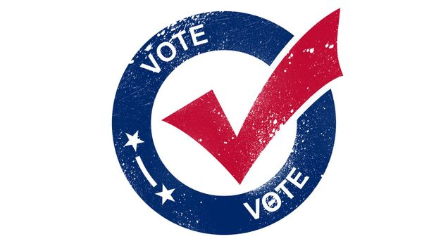 Vote election day in United States of America.