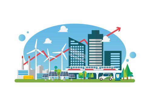 Eco sustainable city