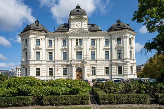 Riga regional court building, Latvia