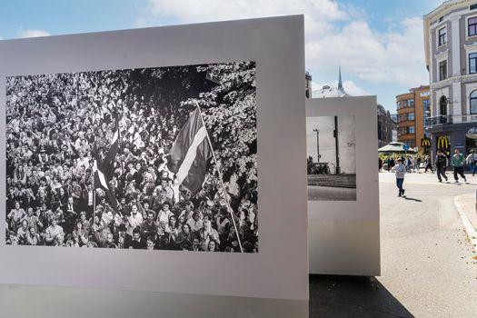 Photography exhibition in Riga, Latvia