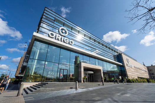Origo shopping Center in Riga, Latvia