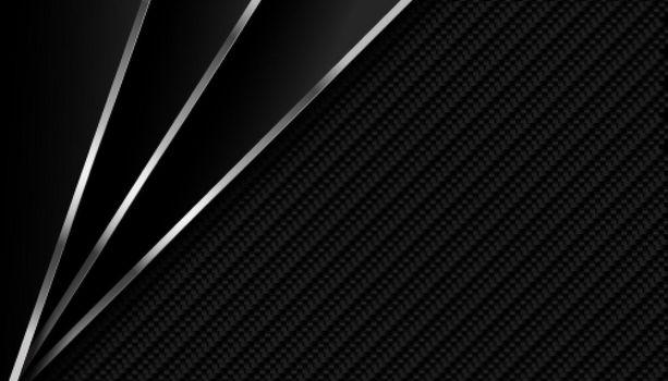 dark carbon fiber with metallic lines background