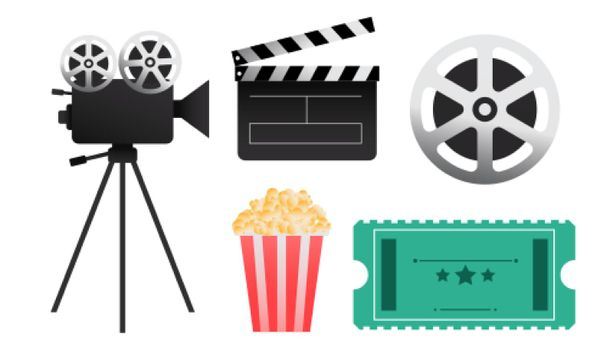 cinema film elements and objects