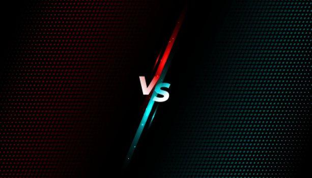 versus vs fight battle screen banner