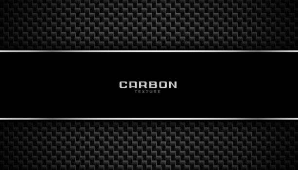 carbon fiber background with metallic lines