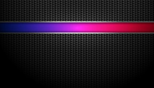 nice carbon fiber background with colorful line