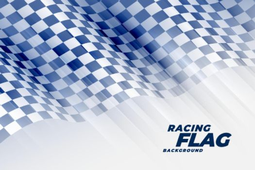 abstract racing flag tournament background