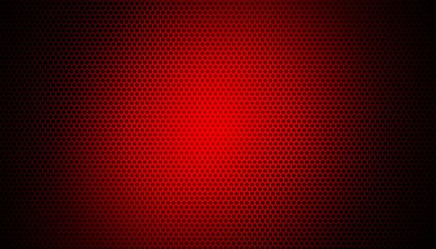 glowing red light on carbon fiber background