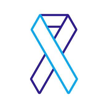 Aids vector icon. Medicine and healthcare sign