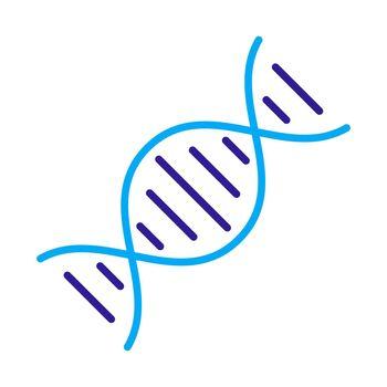 DNA vector icon. Medicine and healthcare sign