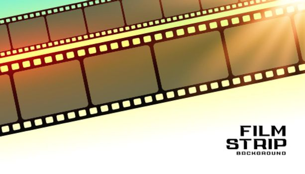 film strip moview poster background
