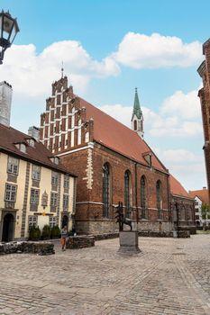 St. John's Church in Riga, Latvia