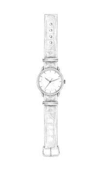Hand Drawn Watch