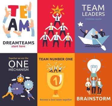 Teamwork Cards Set