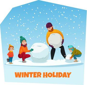 Winter Holiday Illustration