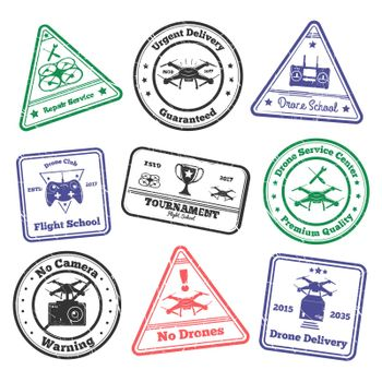 Remote Aircraft Stamps Collection