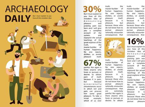 Archaeology Infographics