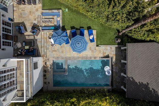 Home luxury pool