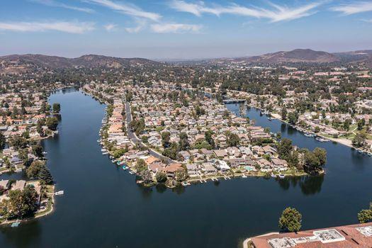 Westlake Village aerial image
