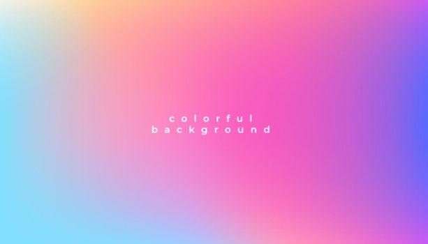 nice colorful blur background design