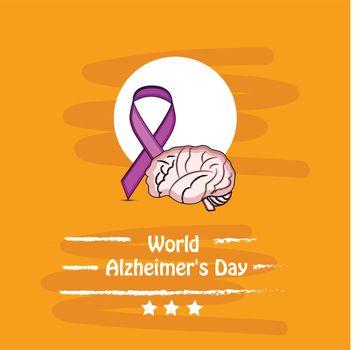 World Alzheimers Day Background