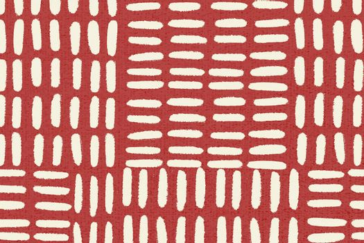 Red pattern background vector, vintage design