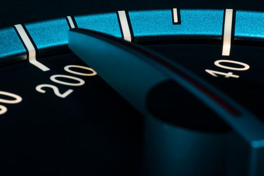 Speed detail odometer 7