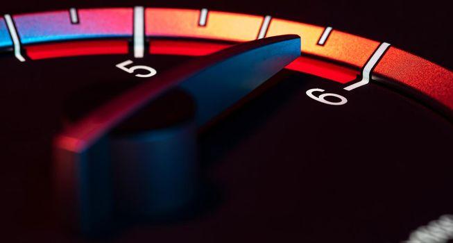 Rpm car odometer power speed