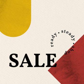 Memphis sale template vector