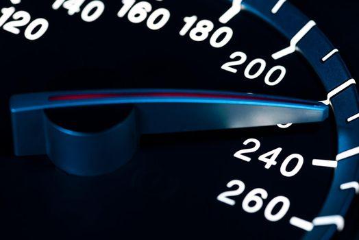 Speed detail tachometer macro shot 10
