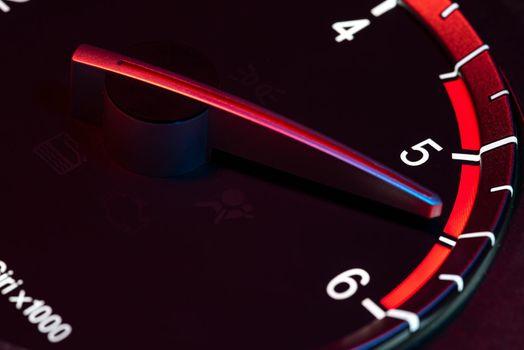 Rpm car odometer power speed 7