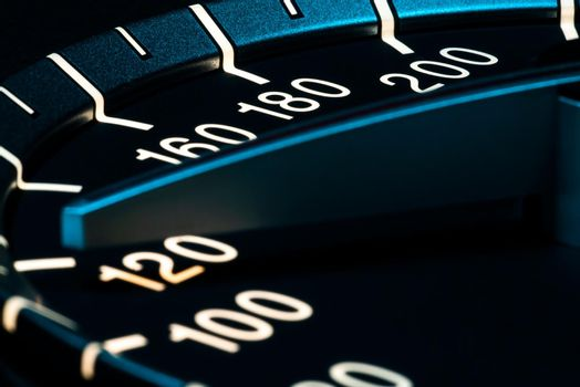 Speed detail odometer 5