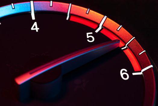 Rpm car odometer power speed 8