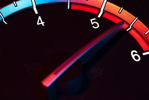 Rpm car odometer power speed 5