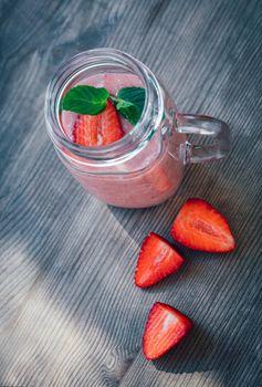 Tasty Strawberry Smoothie