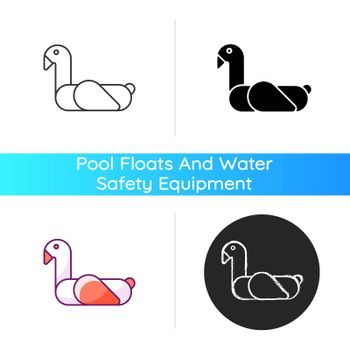 Animal pool float icon