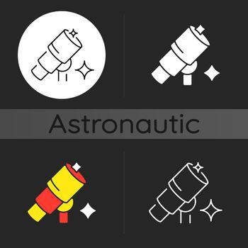 Telescope dark theme icon