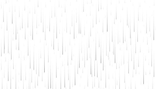 fallinf rain on white background