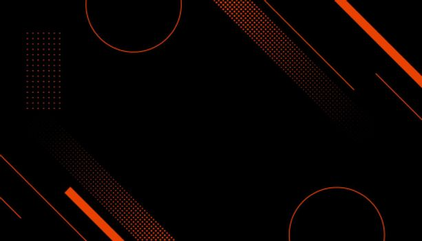 sports style halftone memphis black background