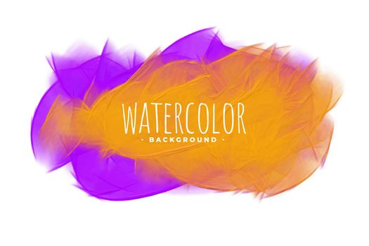 abstract orange and purple watercolor blend stain texture
