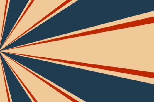 vintage rays burst background design