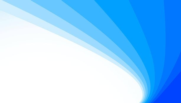 smooth curve blue lines background