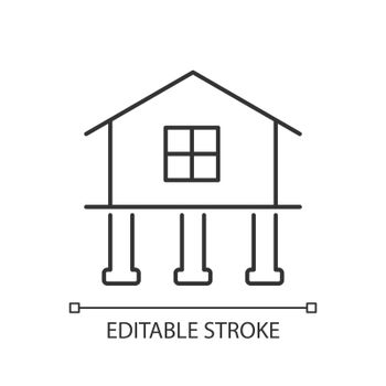 Strength and stability linear icon